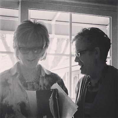 Tracy Johnson and Mary Jane Hamilton