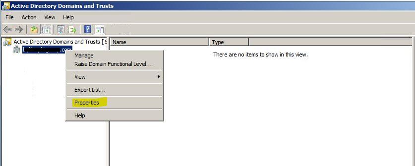 Trust Relationship antar Domain Windows Server