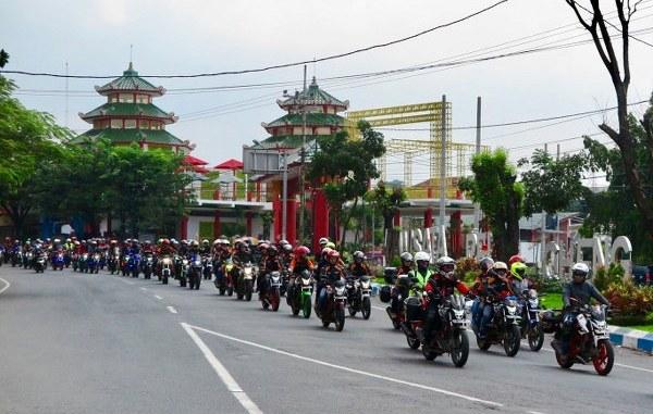 2500 Bikers Hadiri Jambore Nasional Honda CB150R StreetFire Ke-2