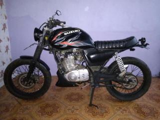 Modif Suzuki Thunder Minimalis