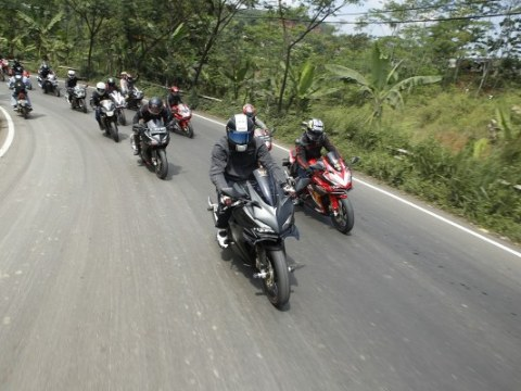 Nonton Bareng MotoGP bersama AHM