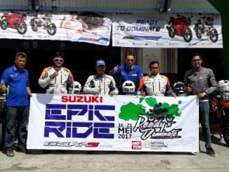 epic ride Mencintai Perjalanan Bersama GSX-S150