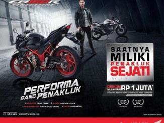 Diskon Mulai 1 Juta untuk Pembelian Honda CB150R