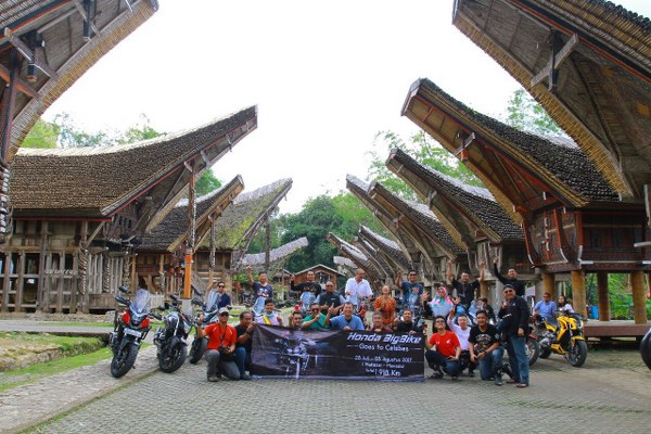 Bikers Honda Big Bike Selesai Jelajahi Sulawesi