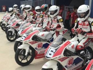 AHM Kirim Dua Pembalap Muda Ke Thailand Talent Cup