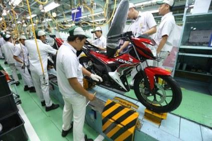 Honda Sonic 150R Update Striping