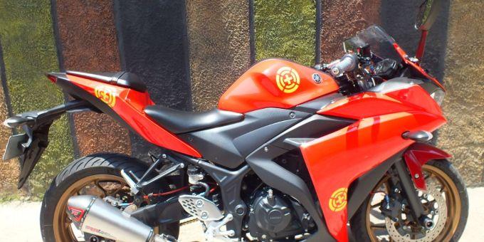 MT-25 milik Vlogger Yang Diubah Jadi R25
