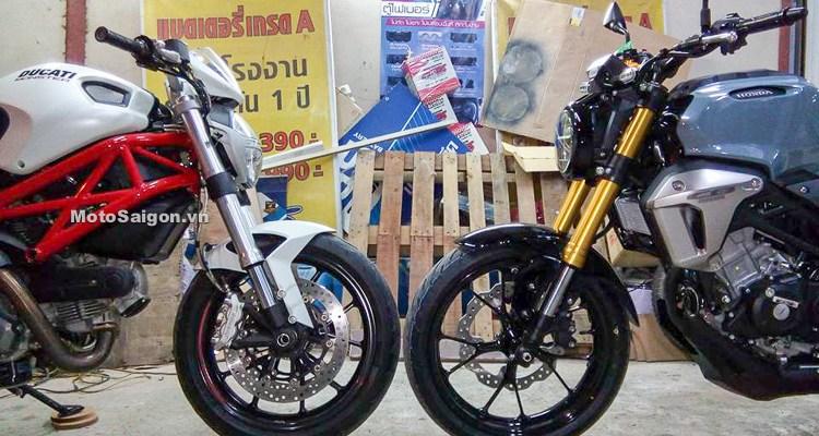 CB150R Exmotion VS Ducati Monster 796