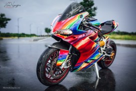 Ducati Panigale With Lolipop Color