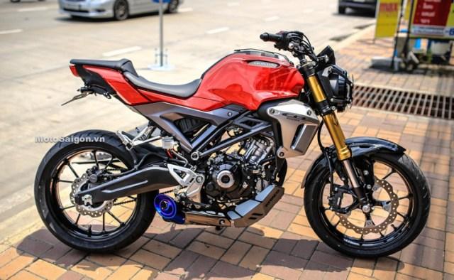 Ini Dia Wujud Honda CB150R Exmotion Full Aksesories
