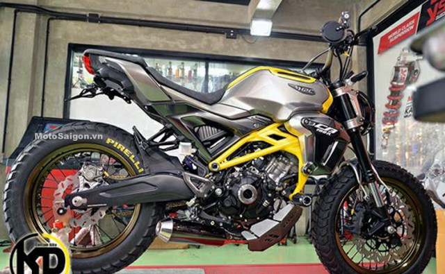 Honda CB150R Scrambler