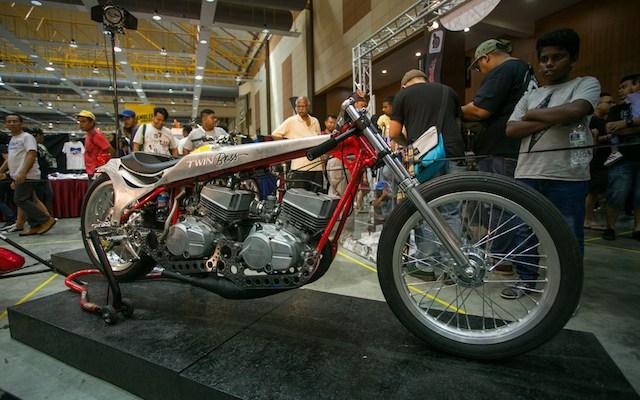 Yamaha RXZ Double Mesin