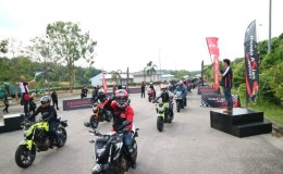 Big Bike Lovers Indonesia Ikuti Honda Asian Journey