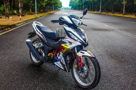 Modif Honda Supra GTR150