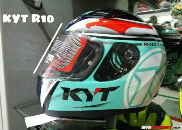Harga Flat Visor KYT R10