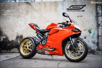 Ducati 899 Panigale Orange