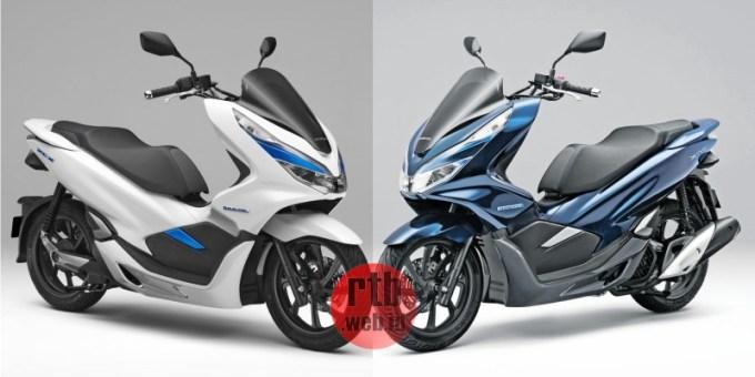 Honda PCX Elektrik dan Hybrid