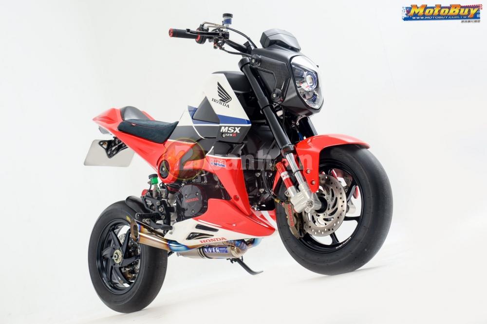 Modifikasi Honda MSX 125