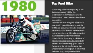 1980 - Top Fuel Bike