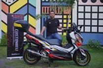 Eldo Harpena pemenang semifinal kelas XMAX CustoMAXI Banjarmasin_800x533