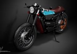 Motor Elektrik Cafe Racer Berbasiskan Honda