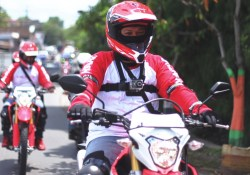 Review Helm Apparel Honda CRF150L
