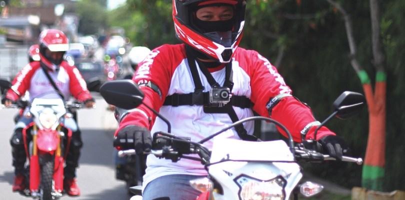 Review Helm Apparel Honda CRF150L