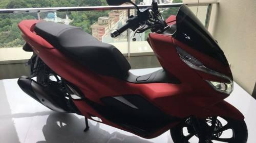 Launching Honda PCX150 2018
