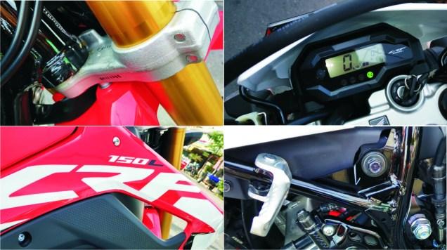 Plus Minus Honda CRF150L