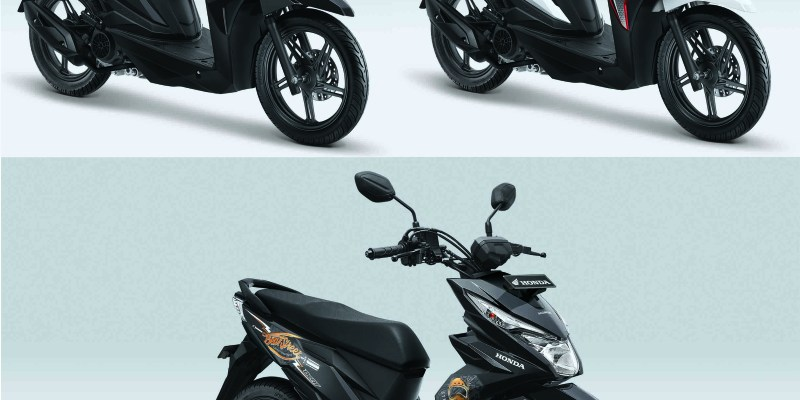 Warna Baru New Honda BeAT eSP dan New Honda BeAT Street eSP 2018
