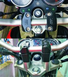 Stang Yamaha MT-25 Di Yamaha Scorpio