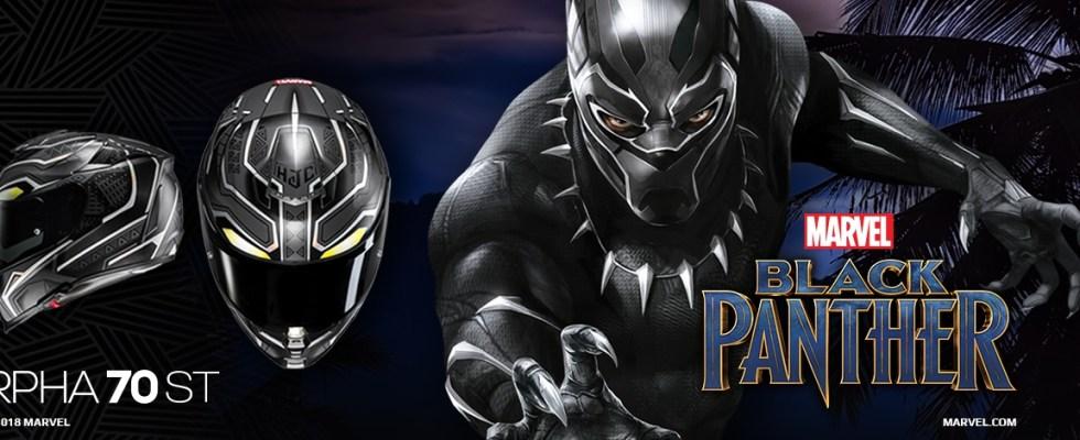 HJC RPHA 70 ST Black Panther