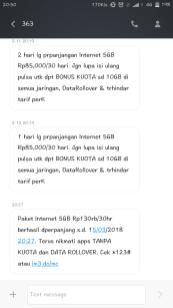 Paket Data Indosat Yang Tidak Menyenangkan