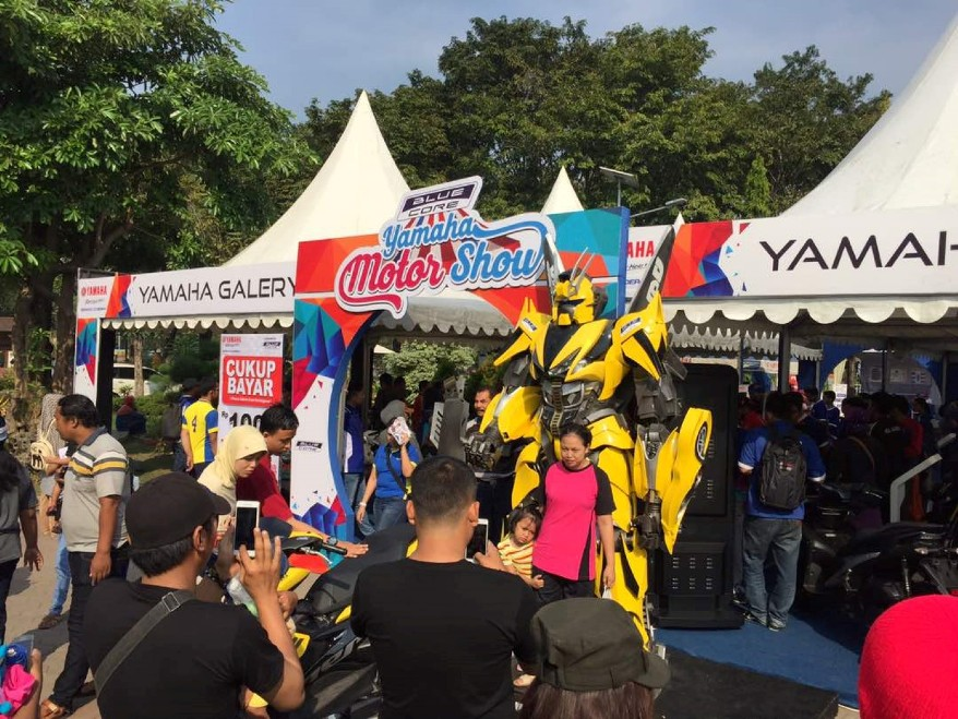 Blue Core Yamaha Motor Show 2018
