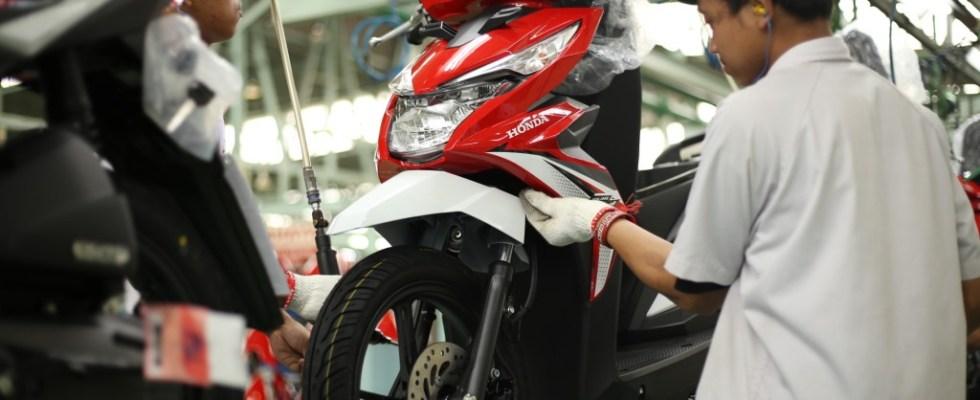 Honda Beat eSP Menjadi Skutik Yang Paling Banyak Diekspor AHM