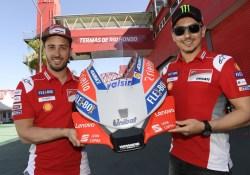 Lenovo Menjadi Pendukung Tim Ducati
