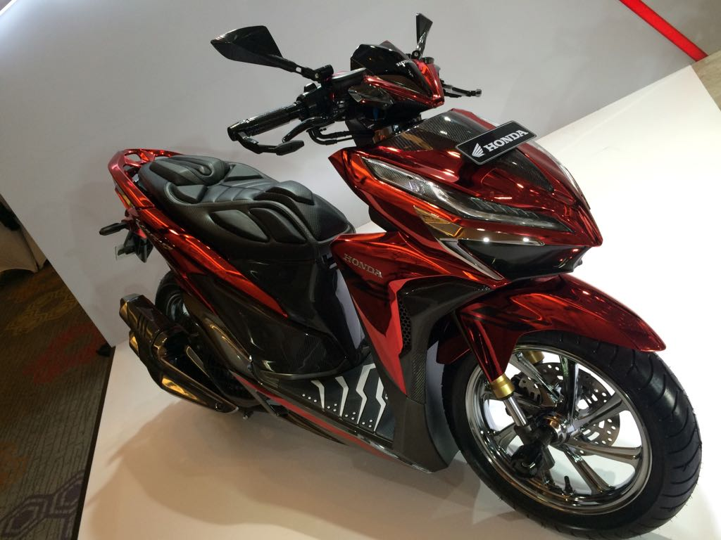 Modifikasi Honda Vario 150 Sporty Bobber