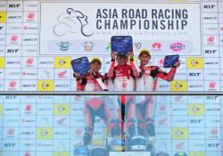 Pembalap Astra Honda Racing Team Sapu Bersih Podium ARRC Australia