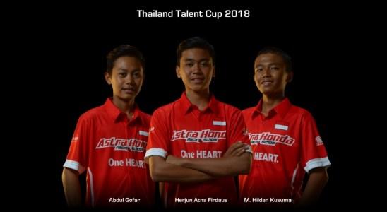 Tiga Perwakilan AHRS Turun Balapan Thailand Talent Cup