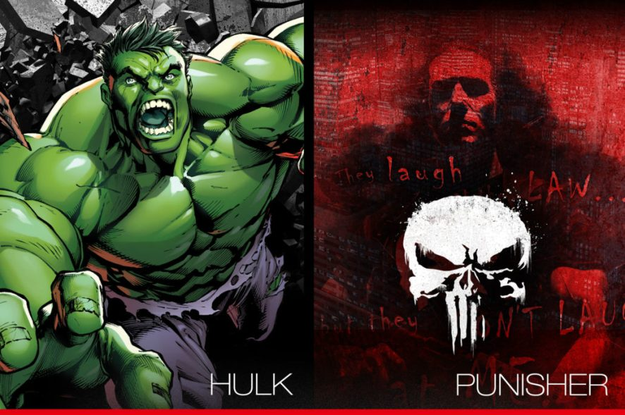 HJC CL-17 Hulk Dan Punisher II