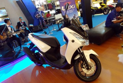 Yamaha Lexi 125 Exhibition