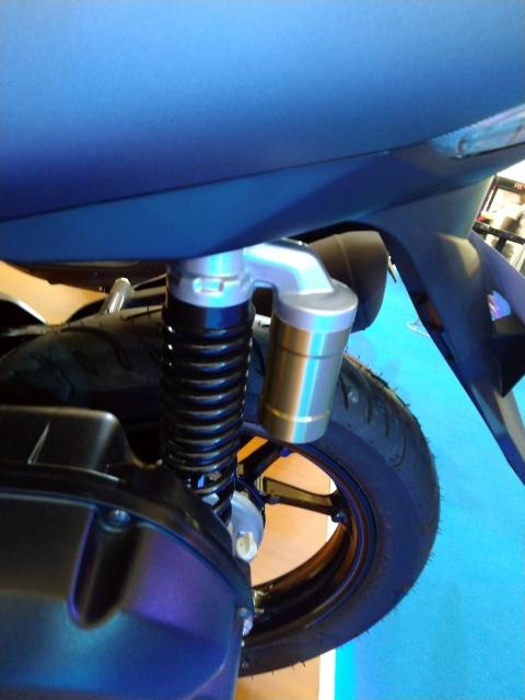 Yamaha Lexi 125 Exhibition