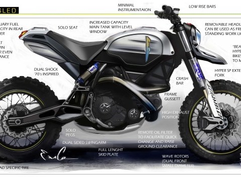 Ducati Scrambler DS Concept