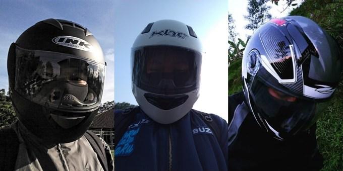 Perbandingan Berat Helm Full Face