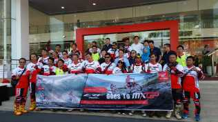 Sambut MXGP Indonesia Bikers Adventure Honda Gelar Touring Trabasan