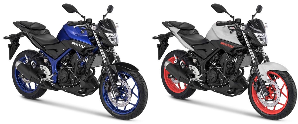 Warna Baru Yamaha MT-25 2018