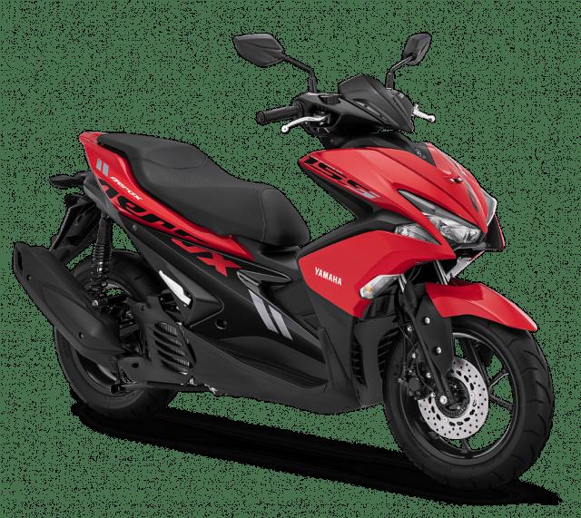 Update Warna Baru Yamaha Aerox 155 2018