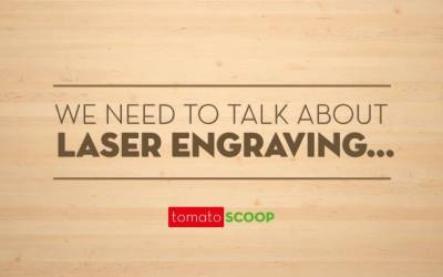 We NEED to talk about laser engraving…