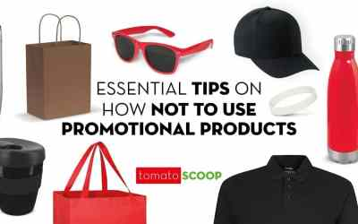 Essential Tips on How NOT to Use Promotional Products