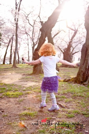 (c) 2014 Red Turtle Photography Cherry Blossom Mighty Girls